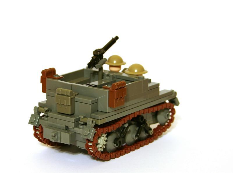 Instruction Bren Universal Carrier Lego Ww2 Brickmafia