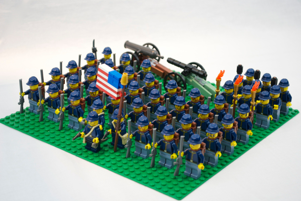 Lego Soldats de l'Union | BrickMafia