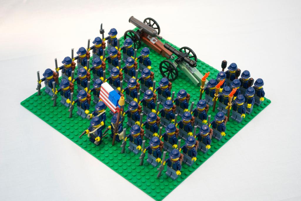Lego Guerre Civile Américaine | BrickMafia