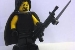 Major Rawn - Lego Fantômes de Tanith
