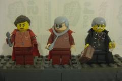 Ana Curth, Kolding et Tolin Dorden  - Lego Fantômes de Tanith