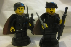 Ban Daur et Gol Kolea - Lego Fantômes de Tanith