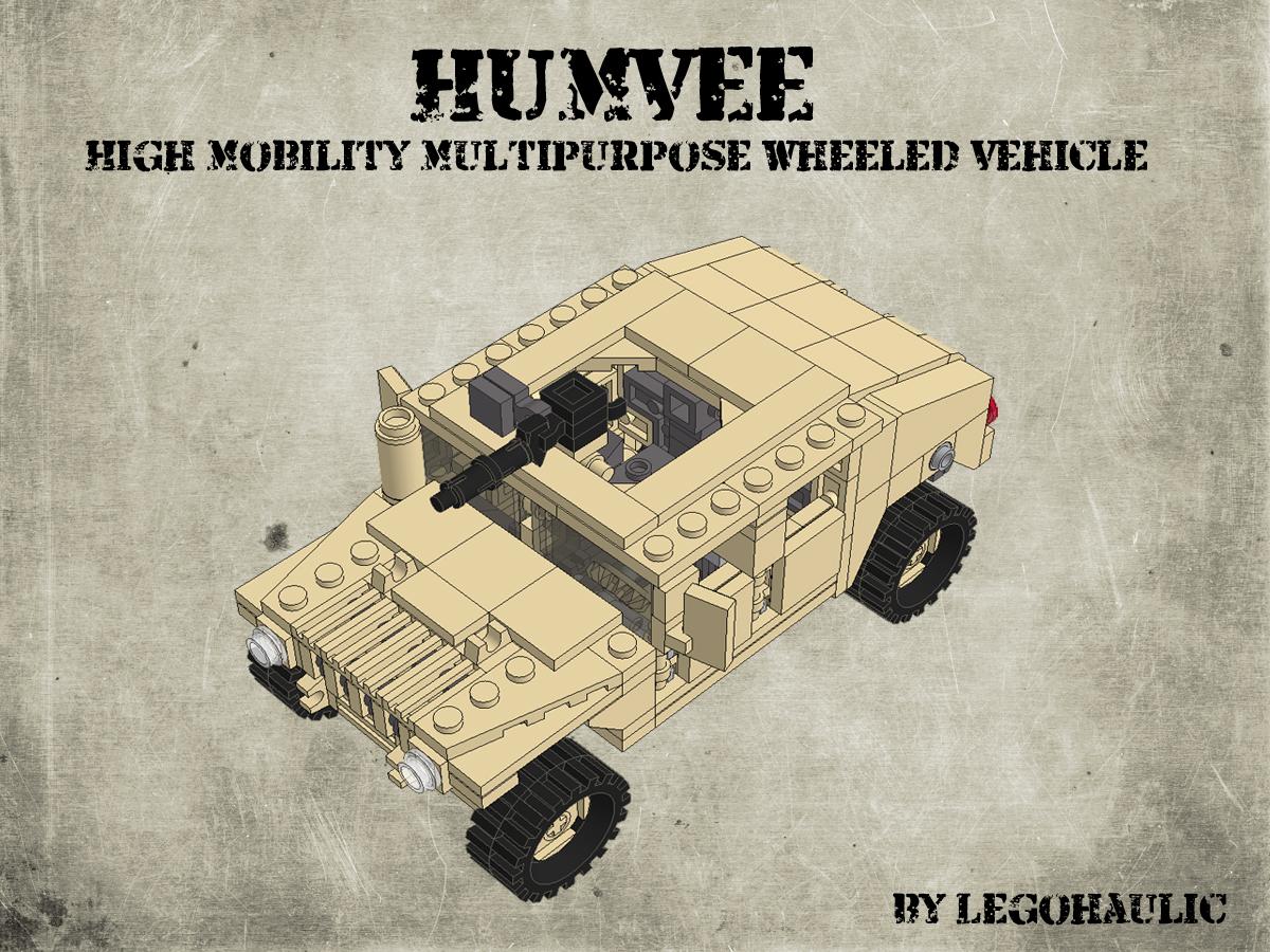 Etape 1 - Notice Lego Humwee - Version LegoHaulic