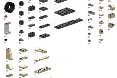 Liste des Pièces - Notice Lego Humwee - Version LegoHaulic