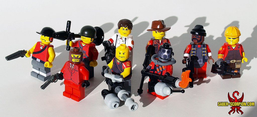 Lego Tacer Build