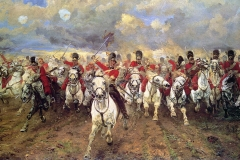 charge-scot-greys-waterloo-Lady-Butler