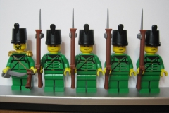 BRITISH 95th Rifle Infantry Soldiers