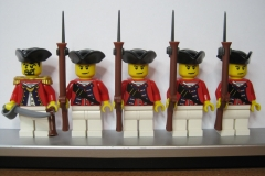 BRITISH Redcoat Infantry Soldiers