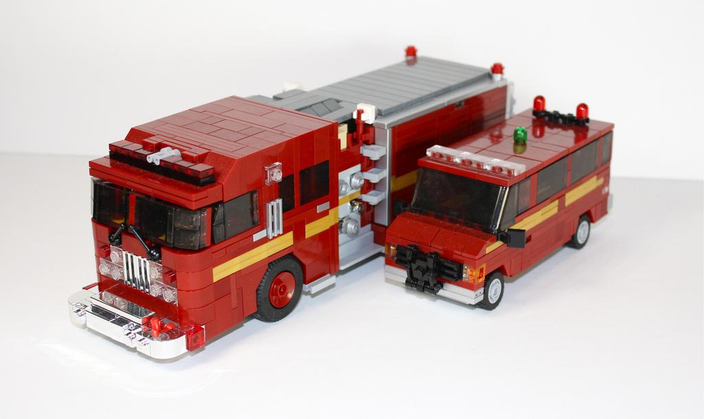 Lego Camion Pompier Toronto Canada Brickmafia