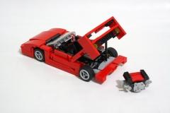 lego-ferrari-f40-moteur