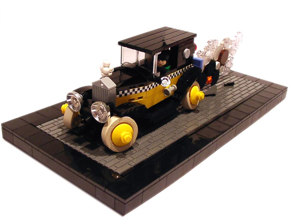 Lego Gaston Lagaffe Fiat 509 Brickmafia