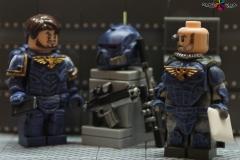 Lego-scout-Ultramarine-peint-W40k