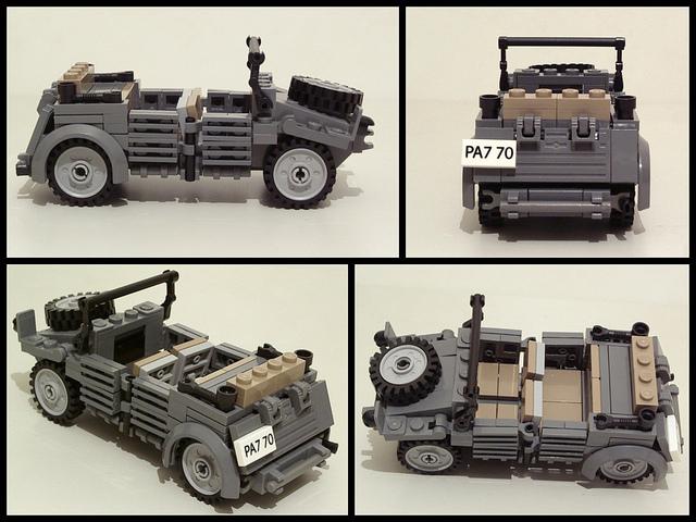 Lego Ww2 Arm 233 E Allemande Brickmafia