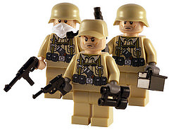 Lego Soldat Afrika Korps