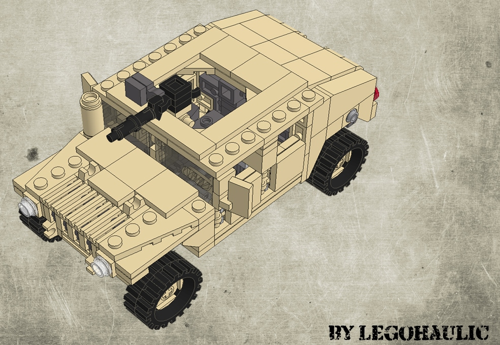 Instructions / Tutorial Hummer H1 Lego
