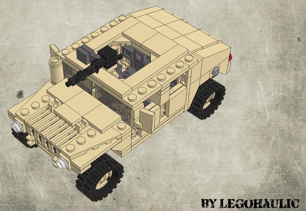 Instructions / Tutorial Hummer H1 Lego