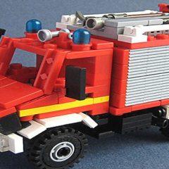 Unimog Pompiers Allemands – Lego