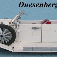 Duesenberg Phaeton 1935 – Lego