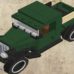Instruction / Tutorial – Ford A Pickup Lego