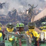 Lego Diorama – Camp Américain Retranché